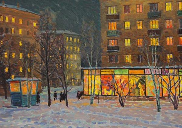 советские пятиэтажки