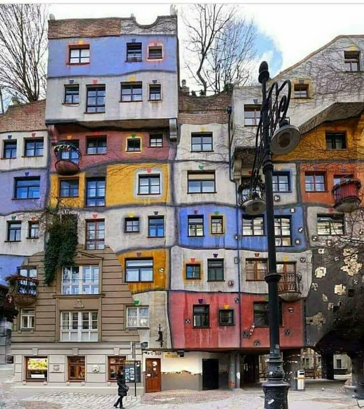 Уникальные жилые дома Европы