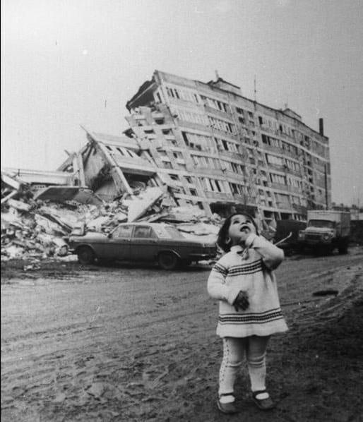 Спитак-1988 - землетрясение