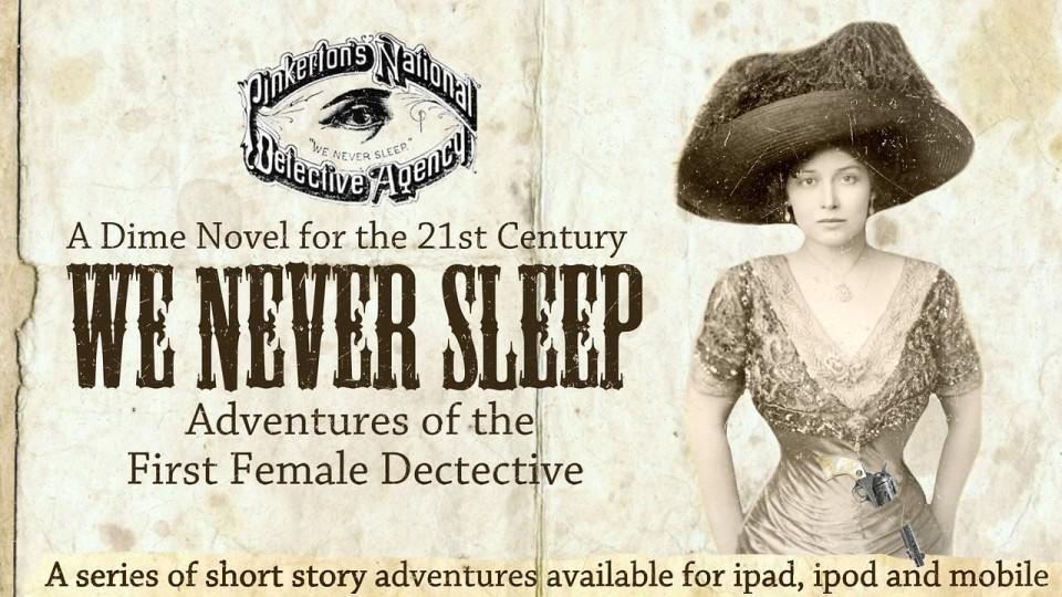 первая женщина-детектив