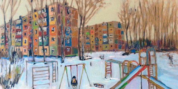 И. Гимранов «Последний день зимы»